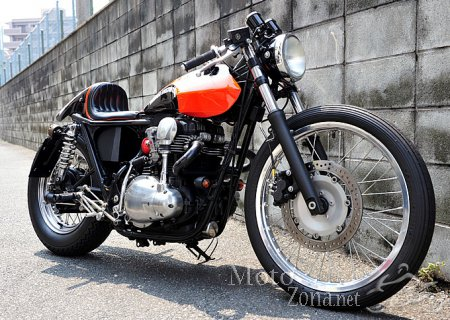 Кастом Kawasaki W400 - Indigo Custom Cycles