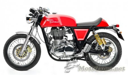 Royal Enfield Continental GT уже на дорогах