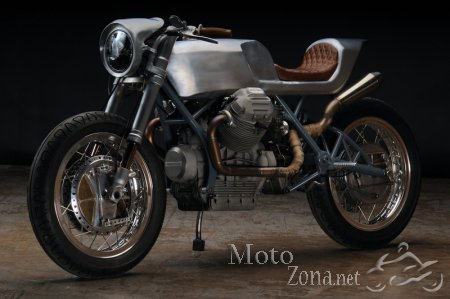 Кафе рейсер Revival Cycles Beto на базе Moto Guzzi 850T 1975