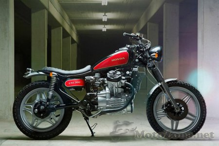 Кастом Kingston Honda CXL500 Scrambler