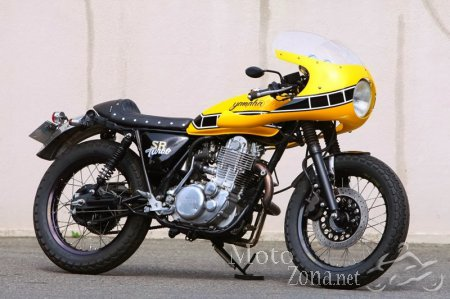 Кафе рейсер Yamaha SR400 Turbo Star